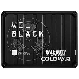 Disque dur externe gaming Western Digital WD Black P10 Edition Call of Duty Cold War - 2 To