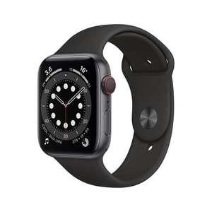 Montre connectée Apple Watch Series 6 (GPS + Cellular) - 44 mm, avec boîtier en aluminium & bracelet noir