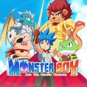 Monster Boy and the Cursed Kingdom sur Switch (dématérialisé)