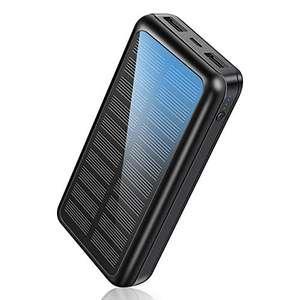 Batterie externe solaire Soluser - 30000 mAh (vendeur tiers)