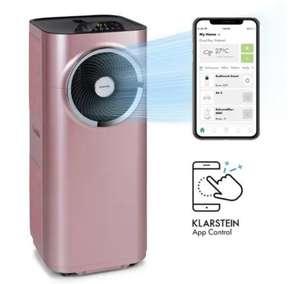 Climatiseur mobile connecté 3-en-1 Klarstein Kraftwerk Smart - 12000 BTU (Doré Rose)