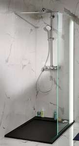 Paroi de Douche Line Prestige Led - 90 cm, Bande de flex LED 6W/m IP 55
