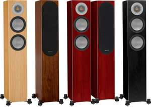Paire d'enceintes colonnes - Monitor Audio Silver 200 - Finition au choix
