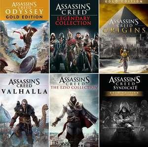 Sélection de jeux Assassin's Creed sur Xbox One & Series en promotion. Ex: Assassin's Creed Origins Gold Edition (Dématérialisé - Store BR)
