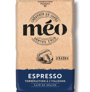 Sachet de café en grain Méo Espresso Barista (1 kg) - St Raphaël (83)