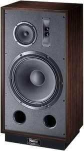 Enceinte 3 voies Magnat Transpuls 1500 - 250 W RMS (500 W crête), haut-parleurs grave 38 cm + medium 17 cm, deux tweeters, 16 Hz > 35 kHz