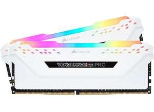 Kit Mémoire RAM DDR4 Corsair Vengeance RGB Pro Series CMW16GX4M2C3200C16W 16 Go (2 x 8 Go) - 3200 MHz, CL16