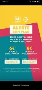 Place de cinéma à 6€ ou place de cinéma Premium Ice à 8€ sur les séances du vendredi 23 juillet