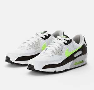 Baskets Nike Air Max 90 - White / Hot lime (Taille 38.5 au 46)