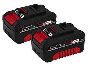 Lot de 2 batteries Einhell Twinpack Power X-Change (2x 4Ah)