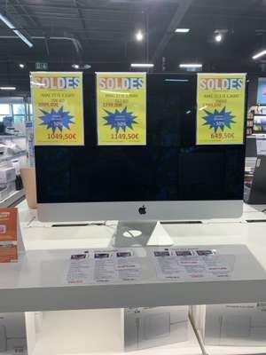 "PC de bureau AiO Apple iMac 5K 27"" - Core i5 (10e Gen), 256Go SSD, 8Go RAM, Radeon Pro 5300 (Rochefort 17)"