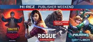 Contenus additionnels gratuits pour Smite, Paladins, Rogue Company sur PC (Dématérialisé, Steam)