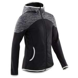 Sweatshirt à capuche zippé Domyos pour enfant - Du 5-6 ans au 14-15ans