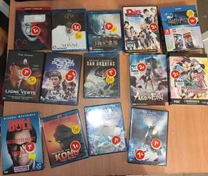 Sélection de DVD & Blu-Ray à 1€ - Bègles (33)
