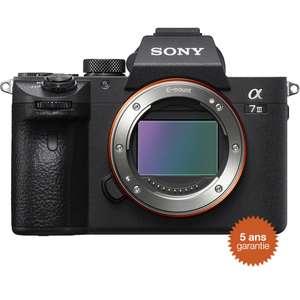 Appareil photo hybride Sony Alpha A7 III - Boitier Nu, Capteur plein format 24 MP
