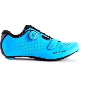 Chaussures de vélo de route Bontrager Velocis pour Homme - Bleue, Tailles 40 à 47