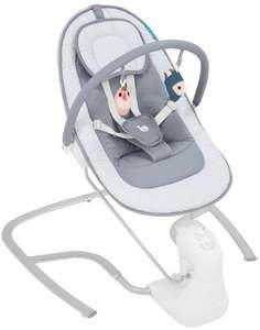 Balancelle électrique pour bébé Babymoov Electric Baby Bouncer Swoon Light - avec 8 berceuses, coloris gray