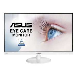 "Ecran PC 23"" ASUS VC239HE-W - FHD, Dalle IPS, 16:9, 250cd/m², Blanc"