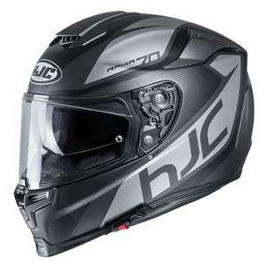 Casque moto HJC RPHA 70 PINOT (Noir/Gris)