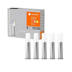 Lot de 5 lampes de jardin à LED Ledvance Smart+ - wifi , compatible assistants vocaux Google et Amazon