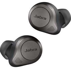 Écouteurs sans-fil intra-auriculaires Jabra Elite 85t - Bluetooth, Noir Titane (Occasion - Comme neuf)