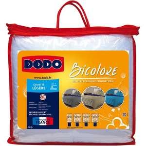 Sélection d'articles en promotion - Ex : Couette légère en coton Dodo Bicolore - 200 g/m², 140x200cm/240x220cm