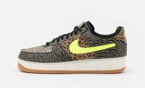 Sélection de chaussures Nike Air Force One en promotion - Ex : Nike AF1 - Olive/volt/rattan, Différentes tailles