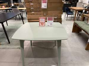 Table Suzie - vert olivier, 100 x 74 x 100 cm - Limoges (87)