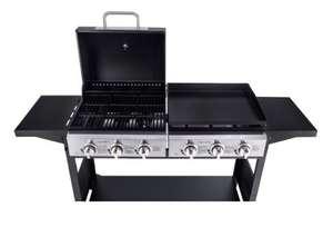 Barbecue et plancha gaz Signature GB-G300D-CP
