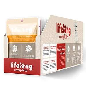 [Abonnement] Lot de 24 paquets viande en sauce pour chiens adultes Lifelong (24 x 100 g)
