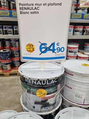 Pot de peinture Renaulac blanc satin (10l) - Coigniere (78)