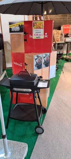 Barbecue électrique Barbecook Alecua 5111 - Jardiplus Theix-Noyalo (56)