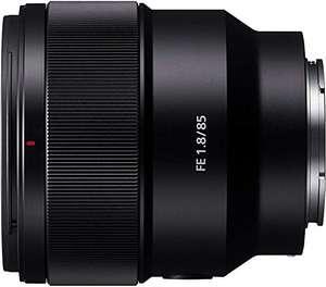 Objectif photo à focale fixe Sony SEL-85F18 FE 85 mm f/1.8 - Monture FE (Plein format / APS-C)