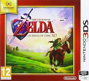 Jeu The Legend of Zelda : Ocarina of Time 3D Selects sur Nintendo 3DS