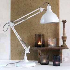 Lampe en métal blanc mat avec tête orientable - RED CARTEL Archi