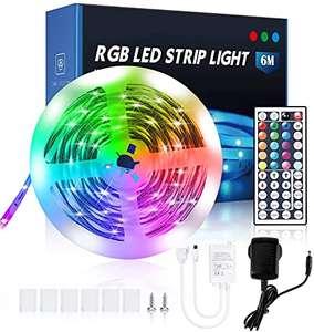 Ruban LED ISUD A 5050 - 6 mètres, 20 couleurs (Vendeur Tiers)