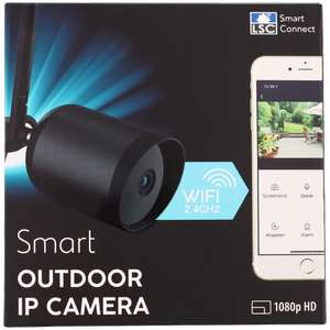 Caméra de surveillance sur IP LSC Smart Connect Smart Outdoor IP Camera - 1080p, étanche IP65, Wi-Fi