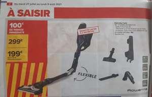 Aspirateur balai sans-fil Rowenta Air Force Flex 460 RH9299WO