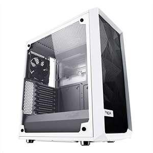 Boîtier PC Fractal Design Meshify C TG - Blanc, ATX, Vitre verre trempé (Frais d'importation inclus)
