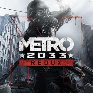 [Gold] Metro 2033 Redux sur Xbox One & Series X|S (Dématérialisé)