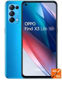 "[Clients Sosh] Smartphone 6.43"" Oppo Find X3 Lite 5G - Bleu"