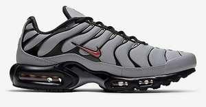 Sélection de Chaussures Nike en promotion - Ex: Nike air Max Plus - Gris/Noire/Rose foncé (Plusieurs tailles)