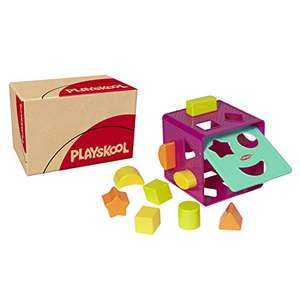 Jouet pour bébé Playskool Cube de Tri de Formes (00322F03)