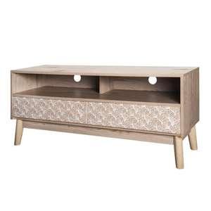 Sélection de meubles en promotion - Ex : Meuble TV Sofia 120 x 40 x 50 cm à 69.99€ (+ 6.99€ cagnottés pour les CDAV)