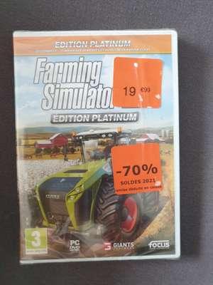Farming Simulator 2019 Platinium Edition sur PC - Noyelles-Godault (62)