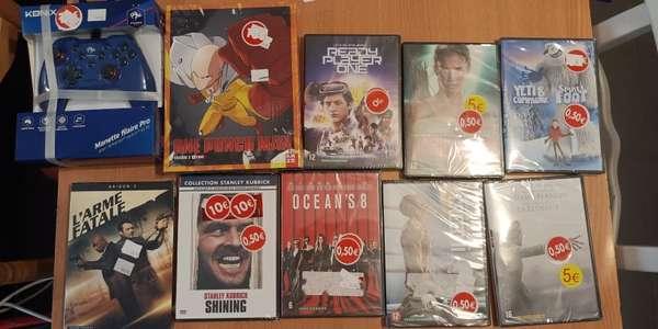 Sélection de DVD à 0.5€ - Bègles (33)
