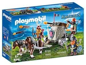 Jouet Playmobil : Char de combat avec baliste et nains (9341)