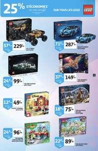 25% remboursés sur la carte fidélité sur tous les jouets Lego (frontaliers Luxembourg)