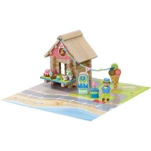 Sélection de jouets en promotion - Ex : Jeujura Le marchand de glaces - 60 pièces