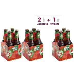 Lot de 3 packs de 4 bières Brooklyn East IPA - 12 x 33 cl